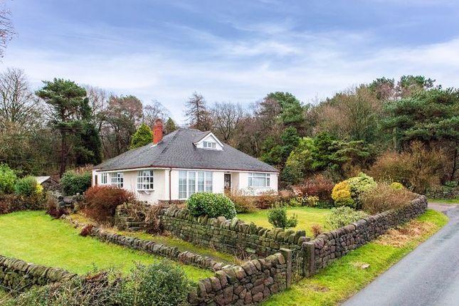 Thumbnail Detached bungalow for sale in Pines Lane, Biddulph Park, Staffordshire