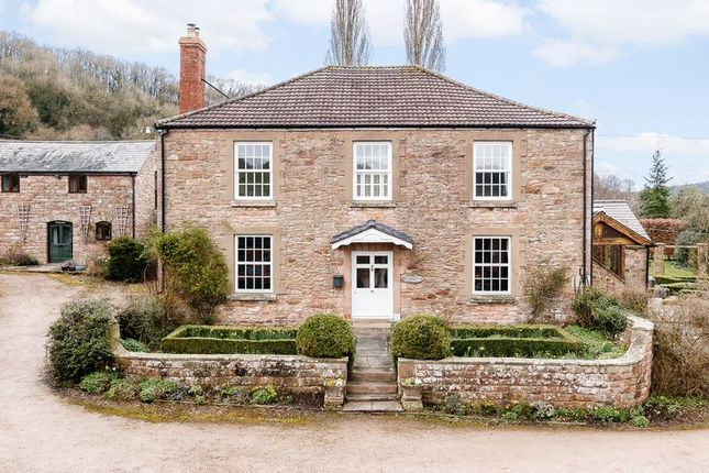 Thumbnail Detached house for sale in Hope Mansell, Ross-On-Wye