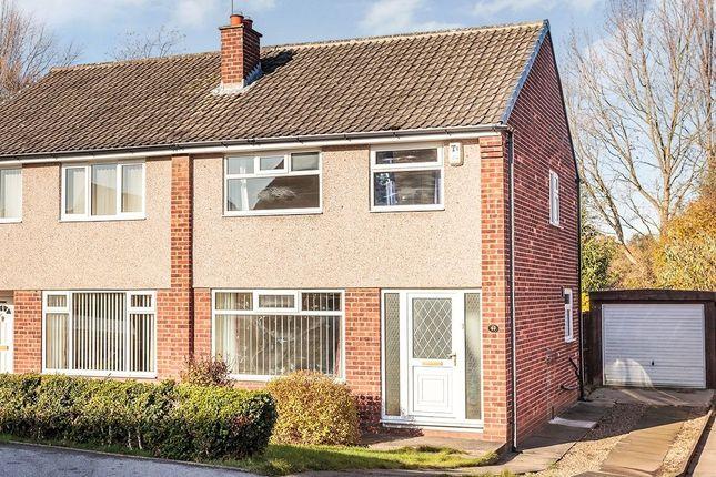 Thumbnail Semi-detached house to rent in Fairburn Drive, Garforth, Leeds