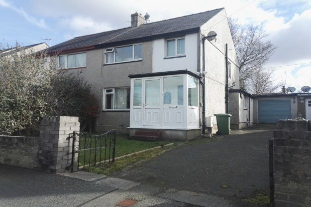 Thumbnail Semi-detached house to rent in Y Rhos, Bangor