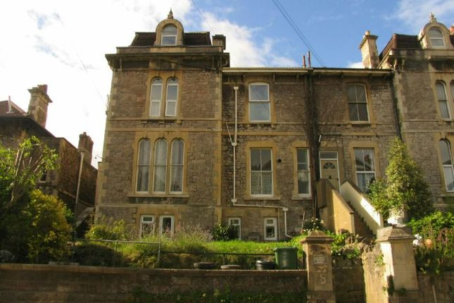 Thumbnail Flat to rent in Edinburgh Place, Weston-Super-Mare