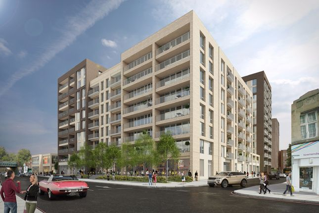 Thumbnail Flat for sale in Charter Square, Staines-Upon-Thames