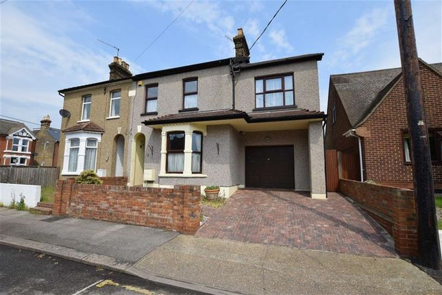 Thumbnail Semi-detached house for sale in Fairview Avenue, Stanford-Le-Hope, Essex