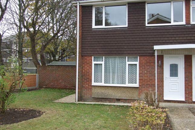 Thumbnail Terraced house to rent in Pennine Walk, Fareham