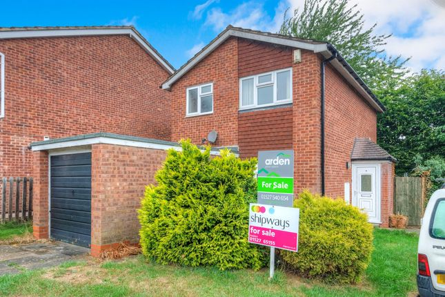 Thumbnail End terrace house for sale in Milcote Close, Greenlands, Redditch