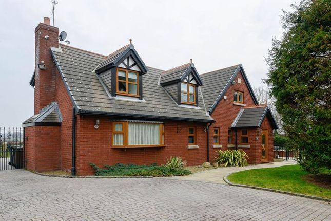 Thumbnail Detached house for sale in Pygons Hill Lane, Lydiate, Liverpool