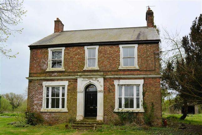Thumbnail Detached house for sale in Castle Hill Farm, Hales Lane, Drax
