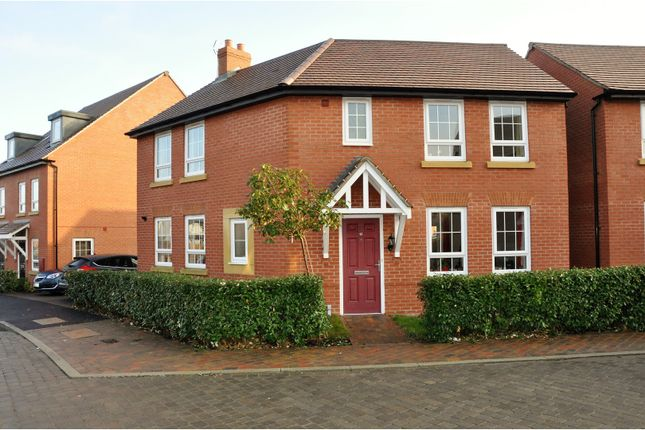 Thumbnail Detached house for sale in Pentland Road, Ashby-De-La-Zouch