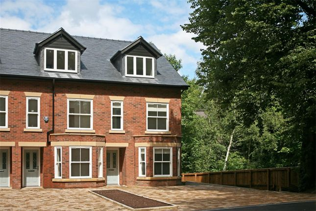 Thumbnail Town house to rent in Park Road, Worsley, Manchester