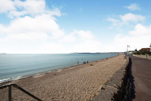 Beach of Greenhill, Weymouth, Dorset DT4