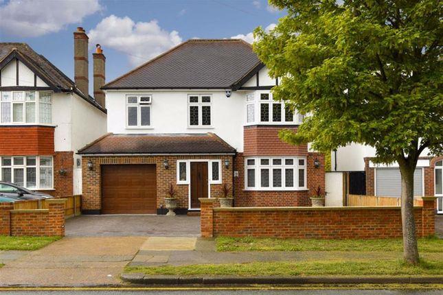 Thumbnail Detached house for sale in Cuddington Avenue, Worcester Park, Surrey