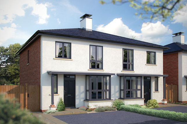 "Thumbnail Semi-detached house for sale in ""The Whittington"" at New Barn Lane, Prestbury, Cheltenham"