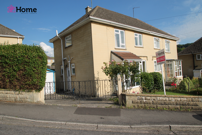 Thumbnail Semi-detached house for sale in Maple Gardens, Bath