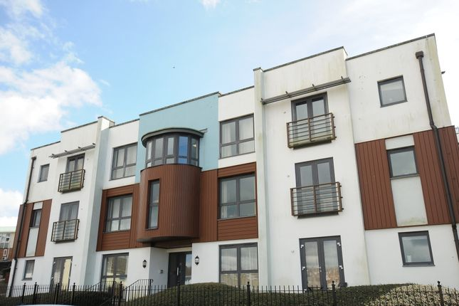 Thumbnail Flat for sale in Oates Road, Milehouse, Plymouth, Devon