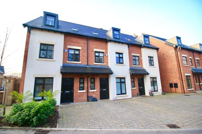 Thumbnail Town house to rent in Old Boatyard Lane, Worsley