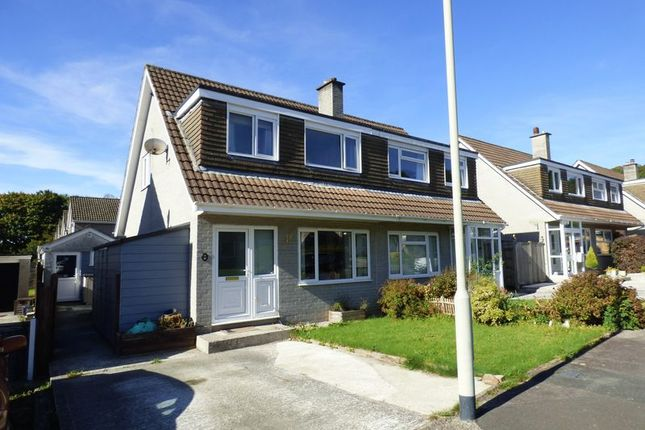 Thumbnail Semi-detached house for sale in Beech Close, Tavistock