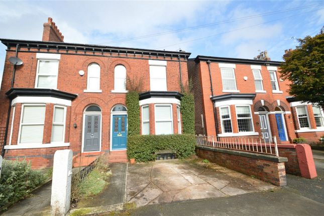 Thumbnail Semi-detached house for sale in Beech Road, Cale Green, Stockport, Cheshire