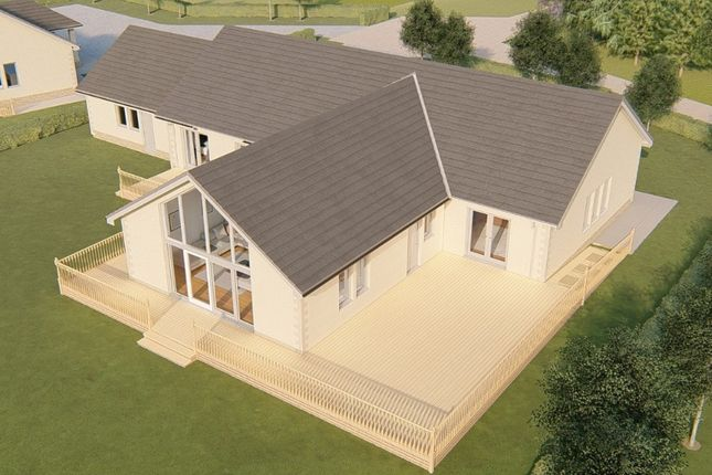 Thumbnail Detached bungalow for sale in Plot 1 Clathy Paddock, Clathy, Crieff, Perthshire