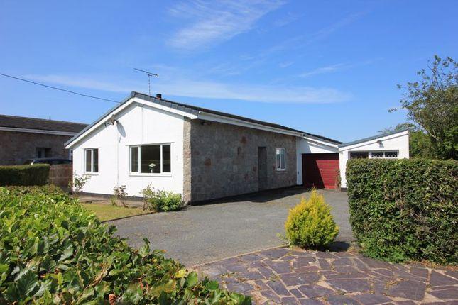 3 bed detached bungalow for sale in Garreg Wen Estate, Rhosybol, Amlwch LL68