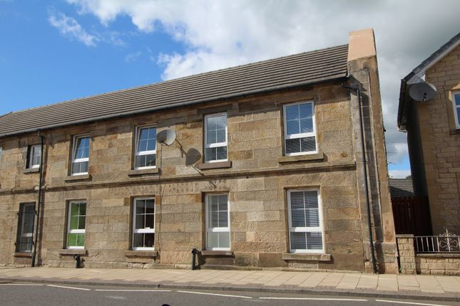 Thumbnail End terrace house for sale in Kirk Street, Stonehouse, Larkhall, South Lanarkshire