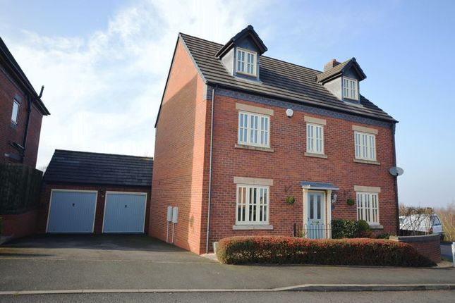 Thumbnail Detached house for sale in Glendale Gardens, Telford