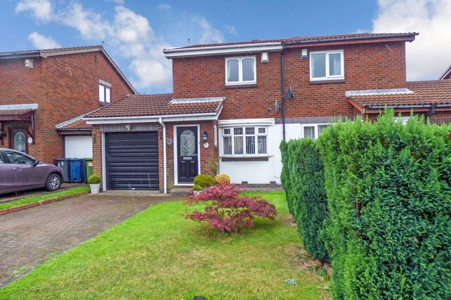 Thumbnail Semi-detached house for sale in Cinderford Close, Boldon Colliery