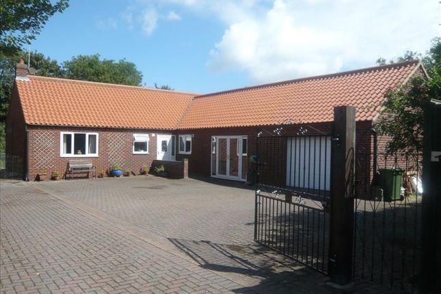 Thumbnail Detached bungalow for sale in Main Road, Holme Next The Sea, Hunstanton