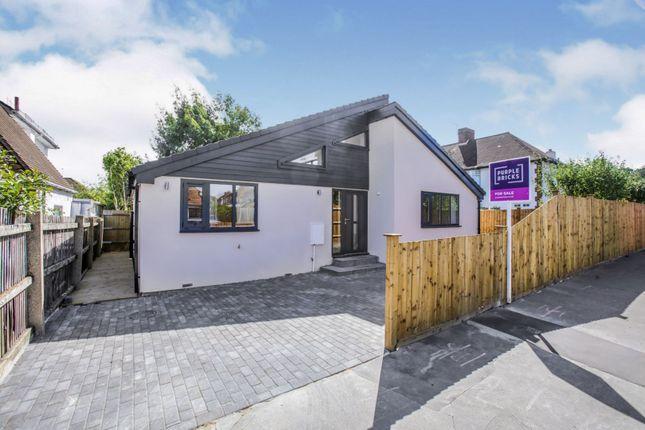Thumbnail Detached bungalow for sale in 46A Temple Avenue, Croydon