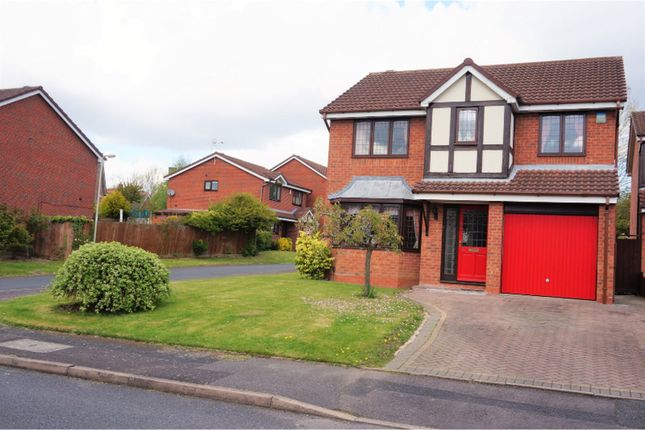 Thumbnail Detached house for sale in The Delph, Stirchley Telford