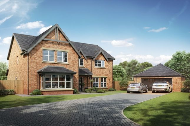Thumbnail Detached house for sale in The Eachwick Medburn Park, Medburn, Newcastle Upon Tyne