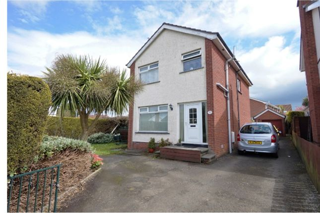 Thumbnail Detached house for sale in St Columbas Drive, Newtownards
