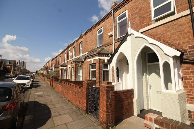 Thumbnail Terraced house to rent in Falmouth Road, Heaton, Newcastle Upon Tyne