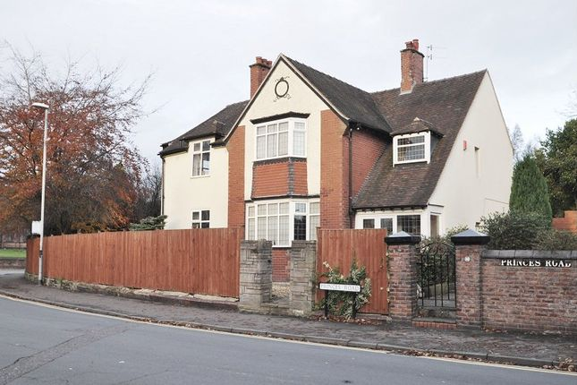 Thumbnail Detached house for sale in Princes Road, Hartshill, Stoke-On-Trent