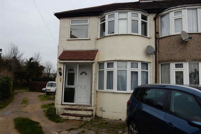 Thumbnail Town house to rent in Clevedon Gardens, Hayes, Middlesex