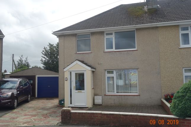 Thumbnail Semi-detached house to rent in Prescelly Park, Haverfordwest, Pembrokeshire
