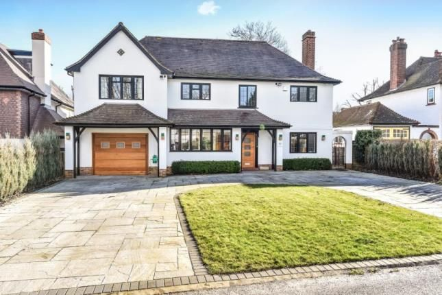 Thumbnail Detached house for sale in Meadow Way, Farnborough Park