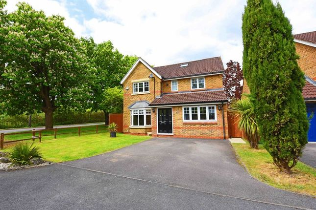 Thumbnail Detached house for sale in St. James Close, Bramley, Tadley