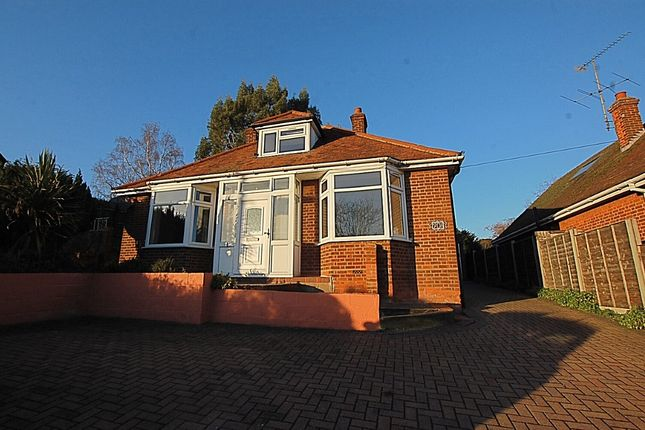 Thumbnail Detached bungalow for sale in Stevenage Road, Hitchin