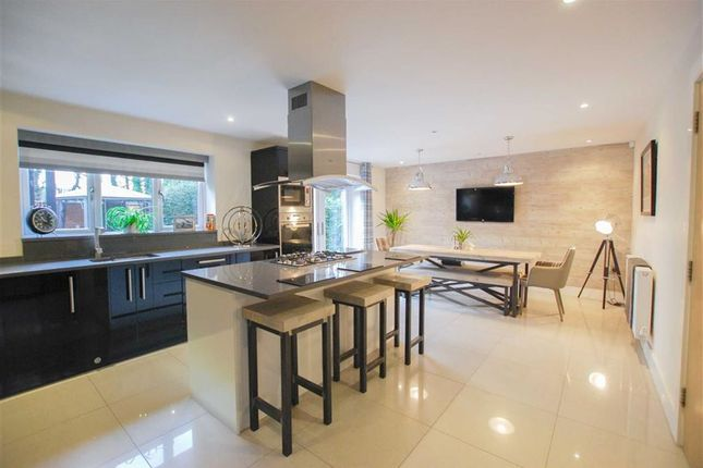Thumbnail Detached house for sale in Manor Gardens, Bury, Greater Manchester