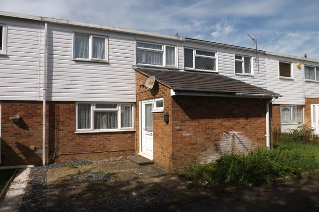 3 bed terraced house for sale in Bromley Gardens, Houghton Regis, Dunstable