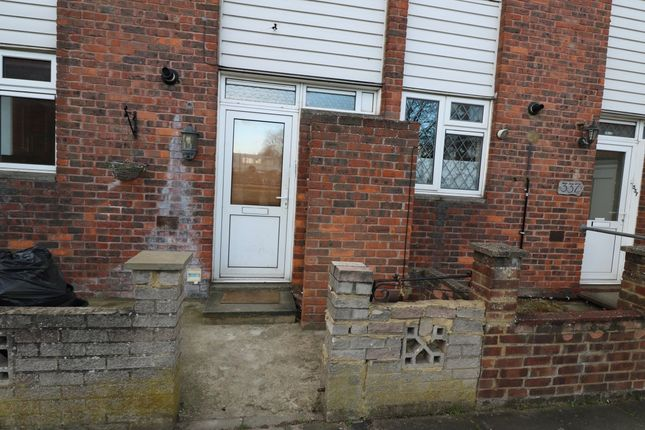 Thumbnail Terraced house to rent in New North Road, Ilford