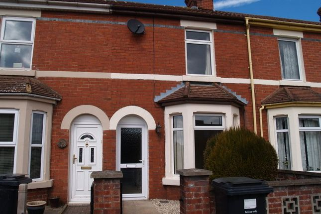 Thumbnail Terraced house to rent in Moredon Road, Swindon