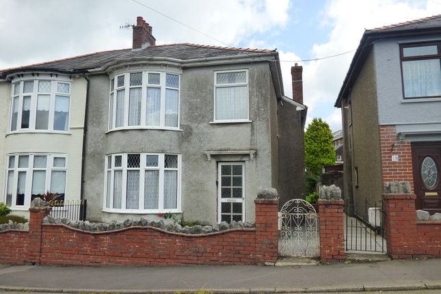Thumbnail Semi-detached house for sale in The Crescent, Crynant, Neath .