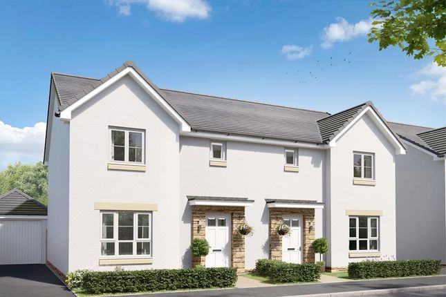 """Thumbnail Semi-detached house for sale in """"Craigend"""" at Salters Road, Wallyford, Musselburgh"""