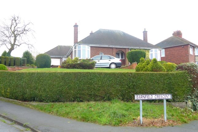 Thumbnail Detached bungalow to rent in Barnfield Crescent, Wellington, Telford