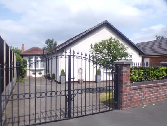 Thumbnail Bungalow for sale in Ryeburn Walk, Urmston, Manchester, Greater Manchester