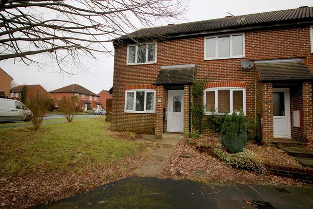 Thumbnail End terrace house to rent in The Hurdles, Fareham