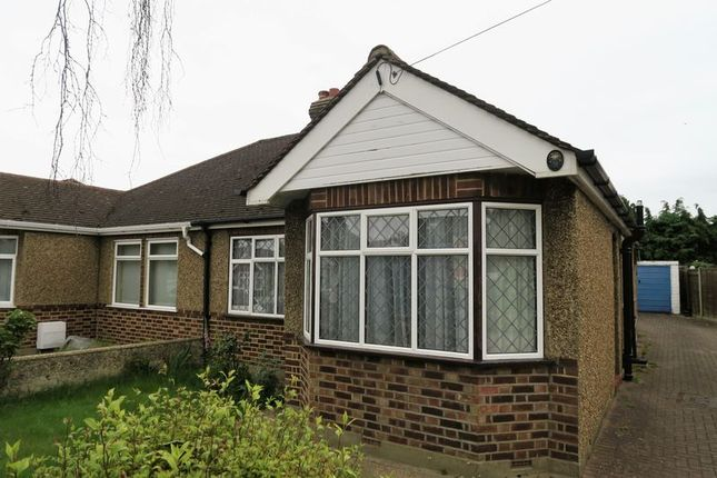 Thumbnail Semi-detached bungalow for sale in Burleigh Gardens, Ashford