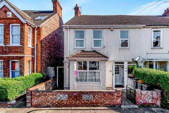 Thumbnail Semi-detached house for sale in Campbell Road, Bedford