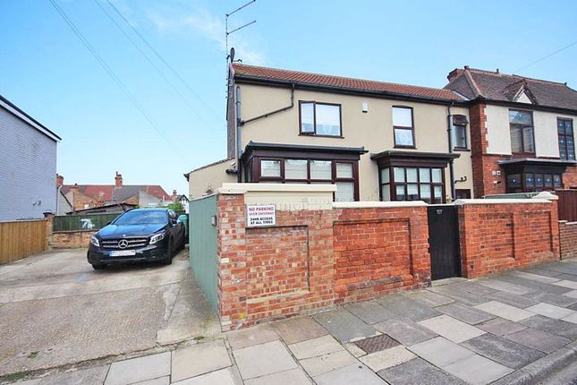 Thumbnail Semi-detached house for sale in Fairview Avenue, Cleethorpes